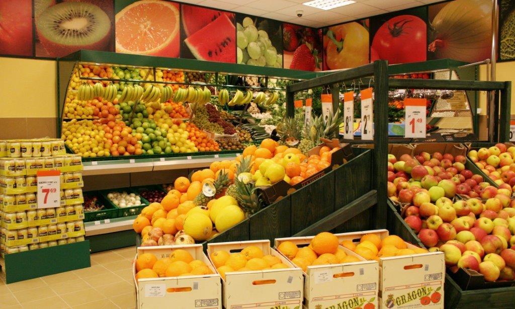 Społem - Warzywa i owoce